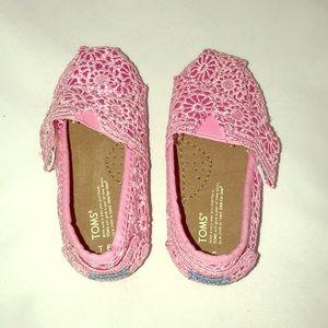 Toms T-6 toddler girls shoe